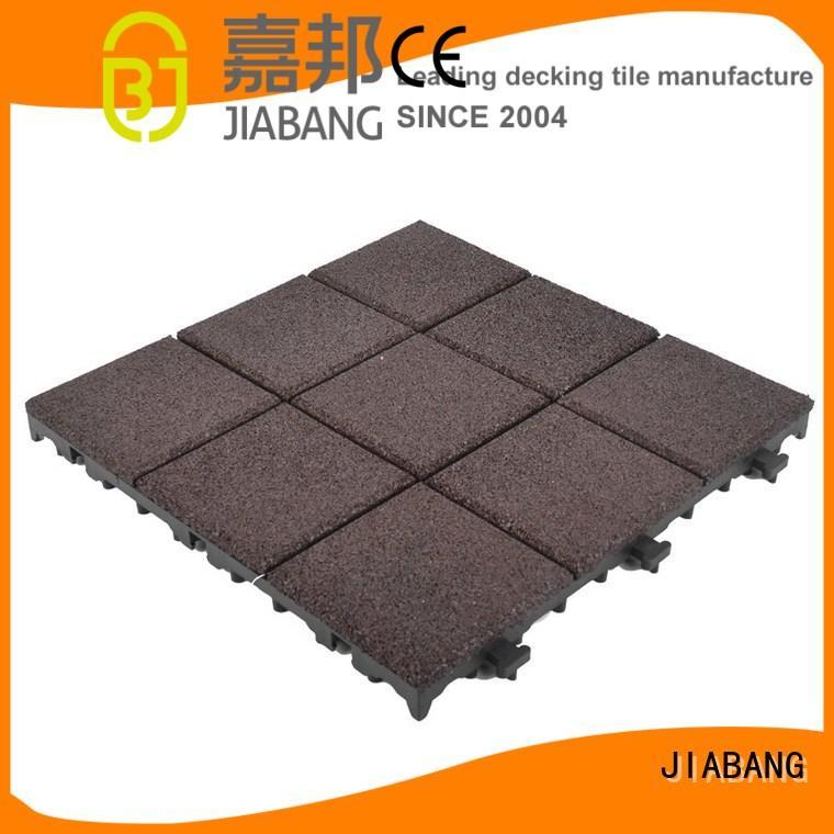rubber mat tiles soft interlocking JIABANG Brand interlocking rubber mats