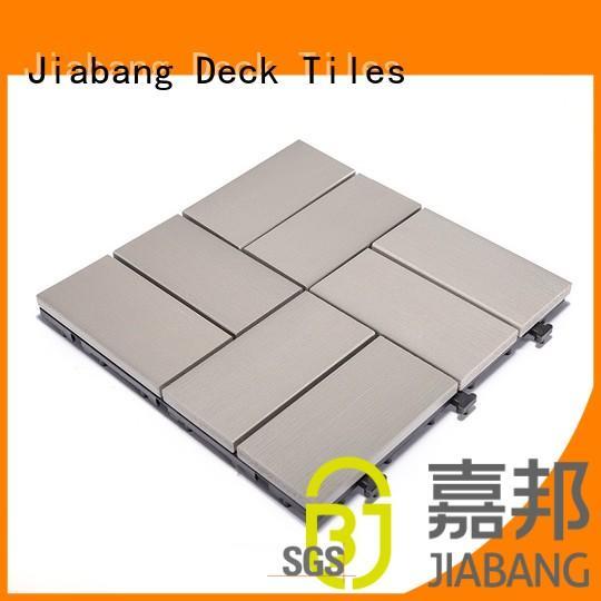 JIABANG Brand home pvc pvc deck tiles decking
