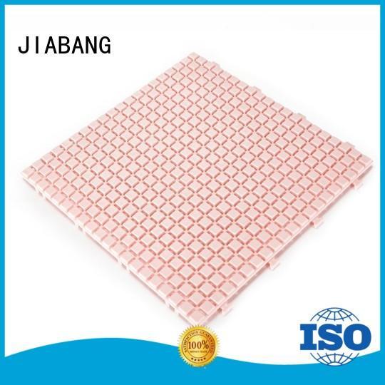 decorative outdoor plastic tiles anti-sliding non-slip for customization