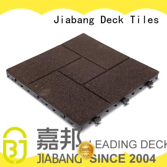 composite rubber gym flooring tiles cheap for wholesale JIABANG