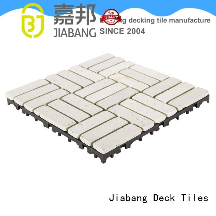 outdoor french pattern travertine pool deck natural for garden decoration JIABANG