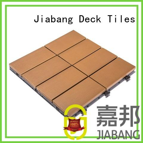 JIABANG wholesale outdoor plastic tiles high-quality home decoration