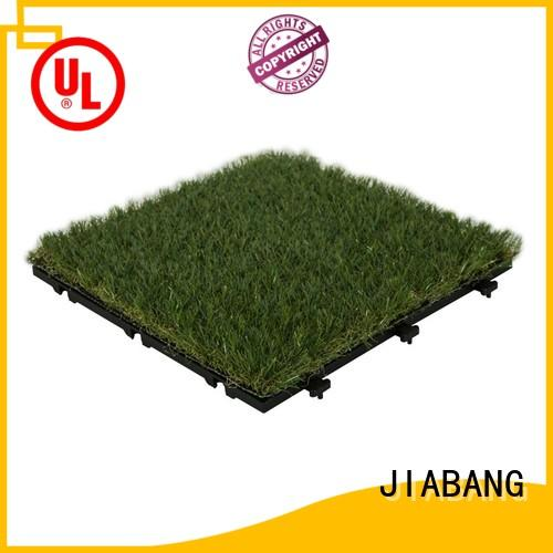 JIABANG hot-sale grass floor tiles artificial grass balcony construction