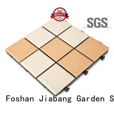 JIABANG porch outdoor ceramic tile for patio at discount for garden