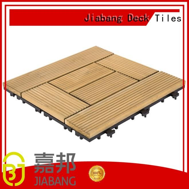 JIABANG diy wood wooden patio deck squares long size for garden