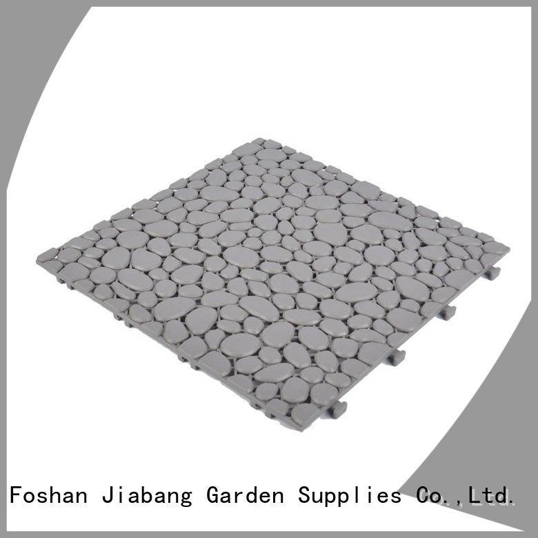 JIABANG decorative plastic patio tiles for wholesale