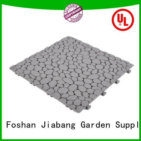 JIABANG protective plastic wood tiles top-selling for wholesale