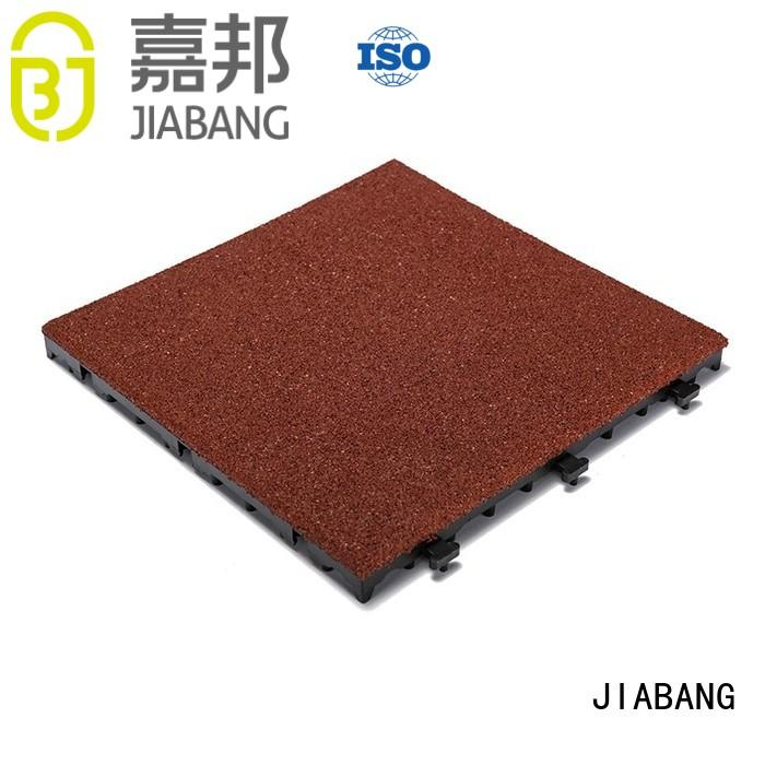 rubber mat tiles deck JIABANG Brand interlocking rubber mats