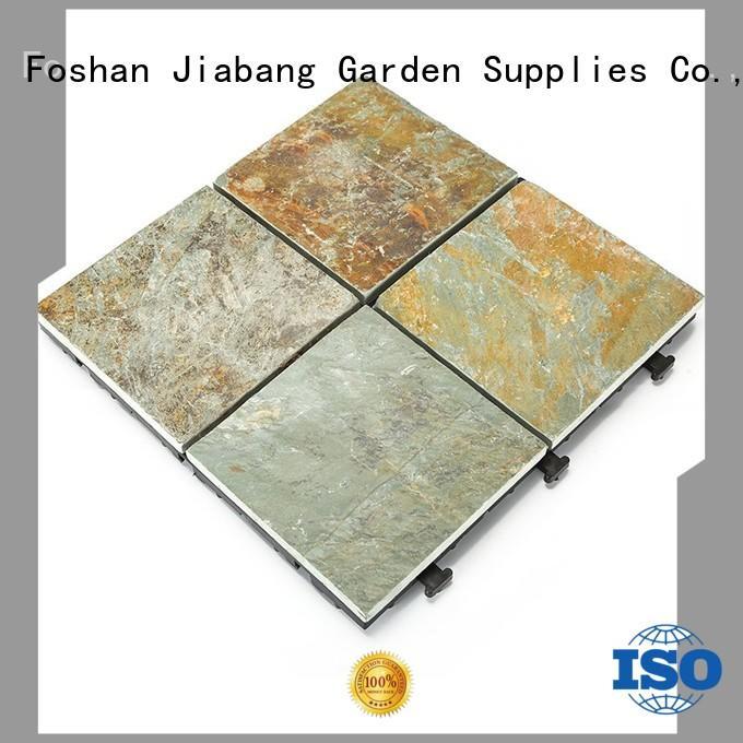 outdoor interlocking stone deck tiles waterproofing floor decoration for patio