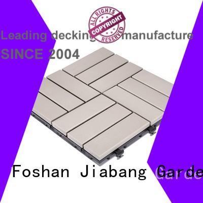 tiles gazebo pvc deck tiles JIABANG manufacture