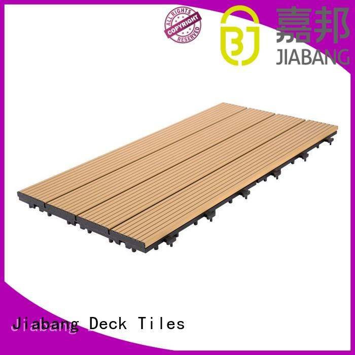 Hot aluminum deck board black JIABANG Brand