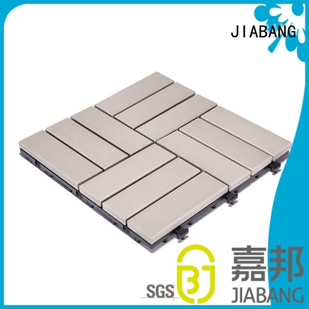 JIABANG high-end plastic garden tiles light-weight gazebo decoration