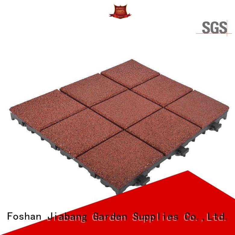 JIABANG highly-rated interlocking rubber mats light weight for wholesale