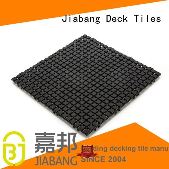JIABANG Brand tiles flooring plastic floor tiles outdoor bathroom