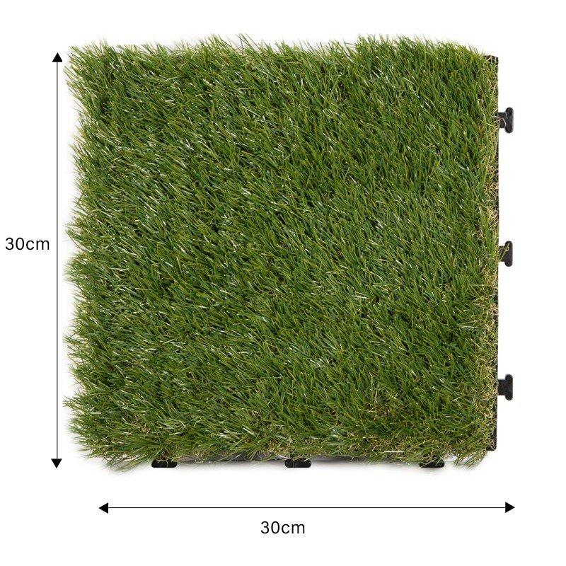 JIABANG flooring artificial grass tiles hot-sale for garden-1