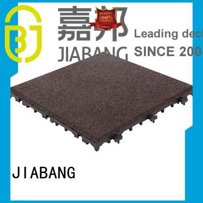 JIABANG Brand snap gym rubber deck interlocking rubber mats