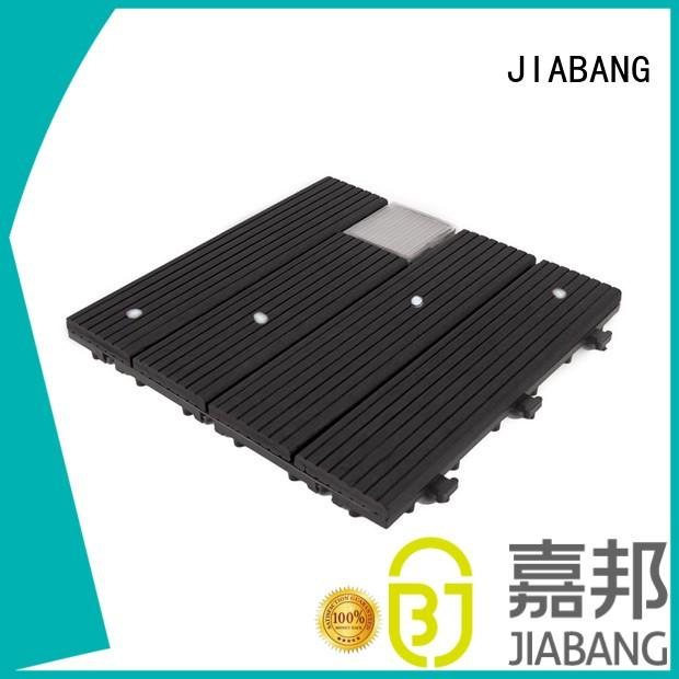 Garden ground LED solar light deck tiles SSLW-WPC30- LDX