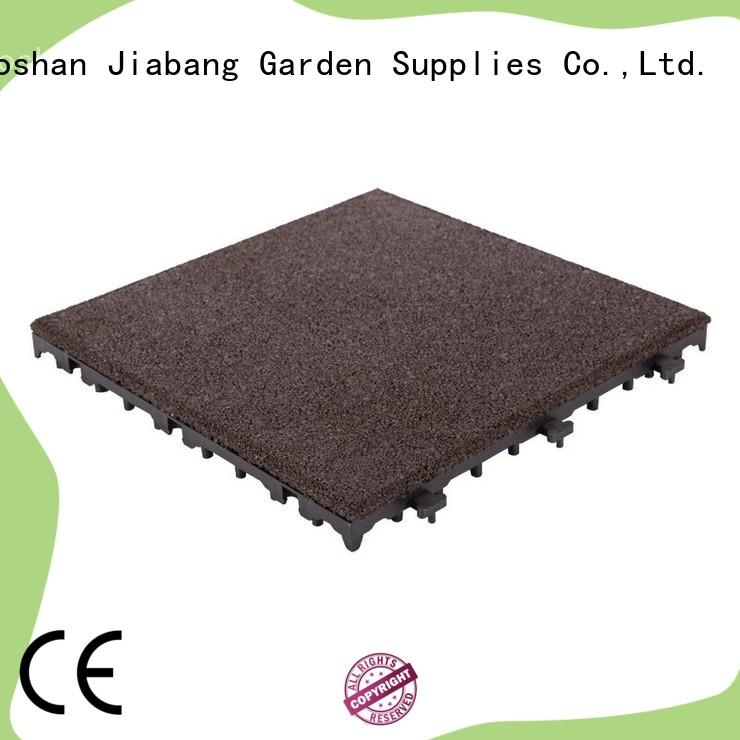 JIABANG composite rubber gym tiles cheap for wholesale