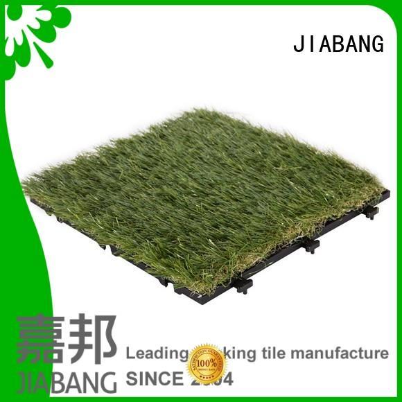 outdoor grass tiles hot-sale for garden JIABANG