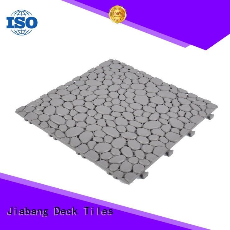 JIABANG plastic mat plastic garden tiles kitchen flooring