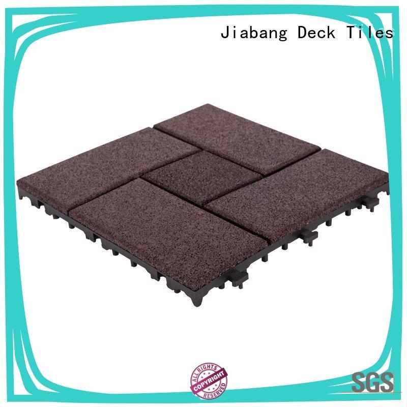 JIABANG professional interlocking rubber mats light weight house decoration