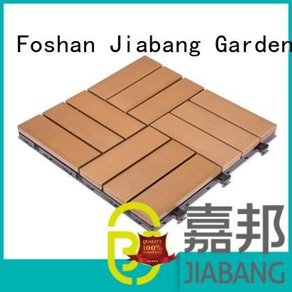 high-end plastic decking tiles hot-sale popular gazebo decoration