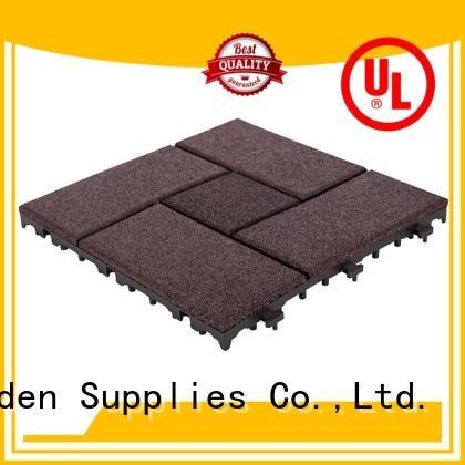 professional interlocking rubber mats playground cheap house decoration