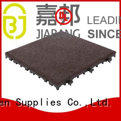 professional rubber floor mat tiles low-cost for wholesale JIABANG