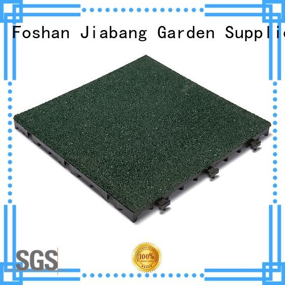 JIABANG hot-sale rubber gym flooring tiles light weight house decoration