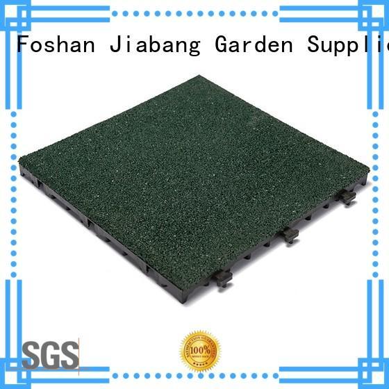 JIABANG hot-sale rubber gym flooring tiles light weight house decoration