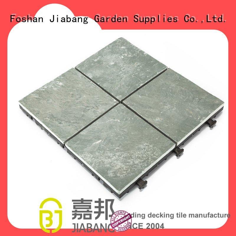 JIABANG slate garden tiles floor decoration swimming pool
