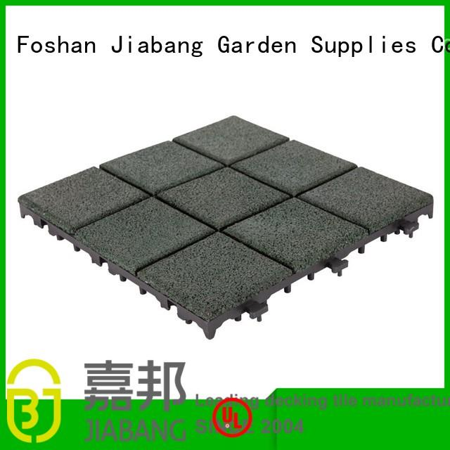 rubber mat tiles patio exterior court JIABANG Brand