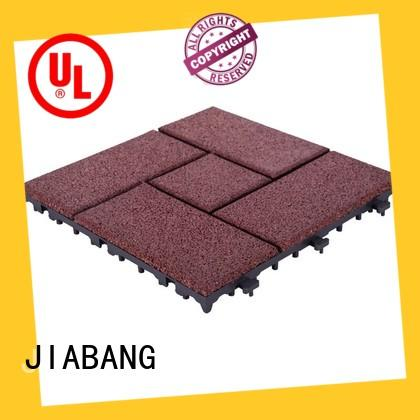 JIABANG professional rubber gym flooring tiles low-cost house decoration