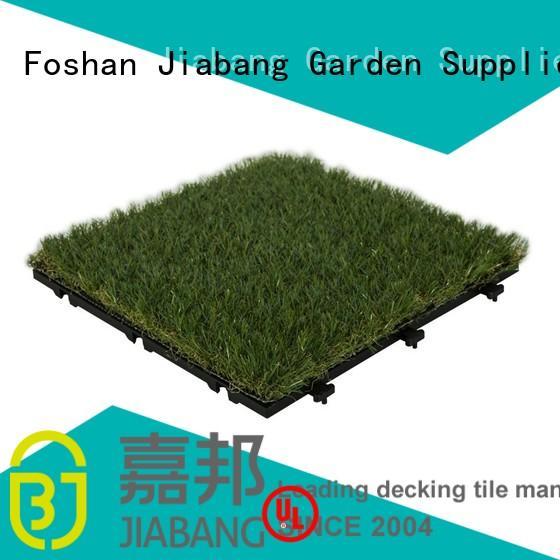 JIABANG professional grass floor tiles hot-sale balcony construction