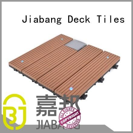 Wholesale solar balcony deck tiles JIABANG Brand