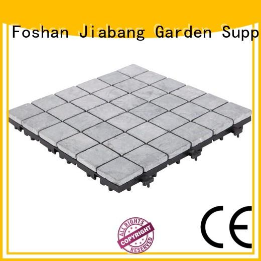 Grey color travertine stone deck flooring for garden path TTS36P-GY