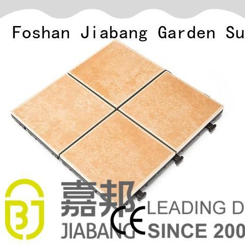 non-slip outdoor frost proof floor tiles balcony decoration JIABANG