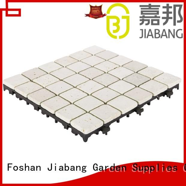 JIABANG natural gray travertine tile wholesale for playground