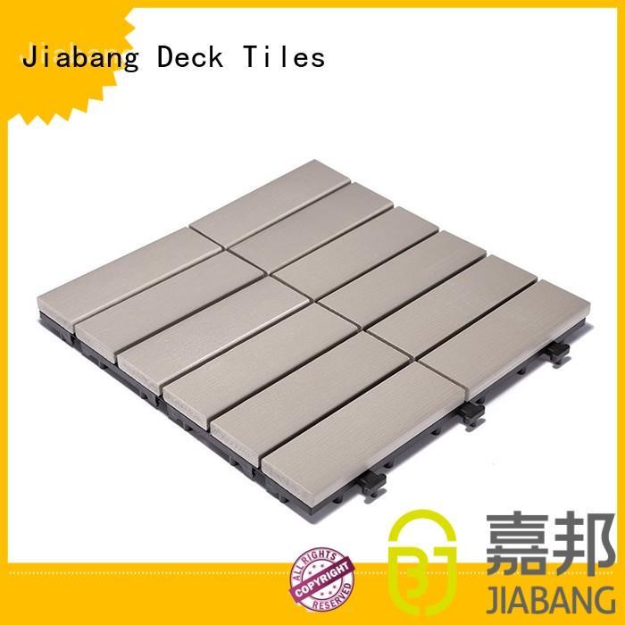 light-weight pvc deck tiles pvc home decoration JIABANG