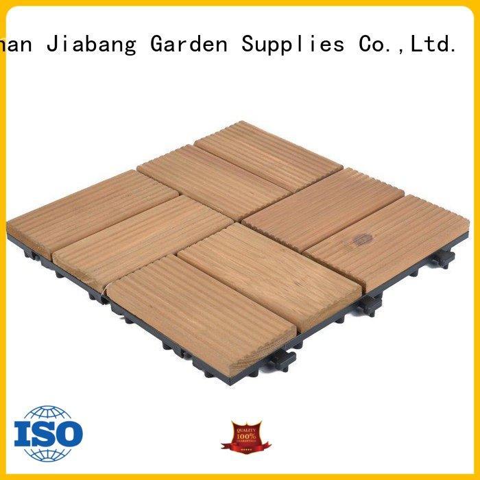 JIABANG outdoor wooden decking squares flooringwood wooden floor