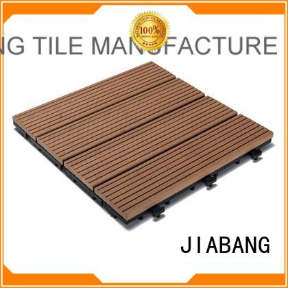 JIABANG cheapest factory price outdoor composite deck tiles at discount