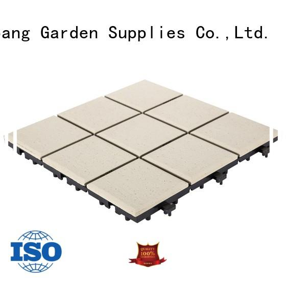 JIABANG interlocking outdoor ceramic tile for patio cheapest factory price for office