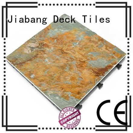 JIABANG diy real stones slate floor tiles for sale garden decoration swimming pool