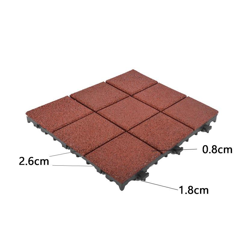 interlocking rubber deck tiles