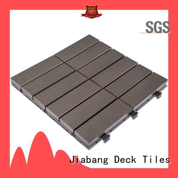 JIABANG pvc outdoor plastic tiles popular garden path