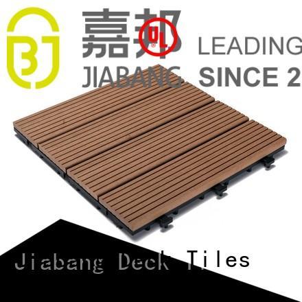 JIABANG Brand white color floor custom composite wood tiles