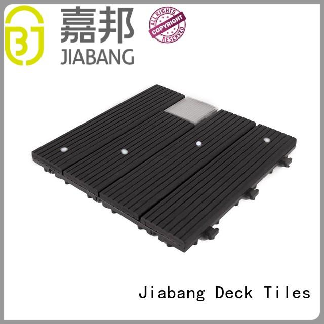 JIABANG eco-friendly patio deck tiles ground