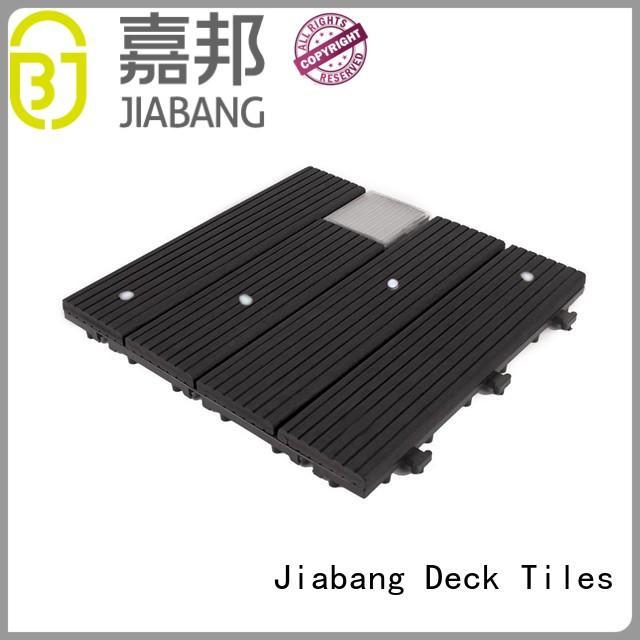 JIABANG eco-friendly patio deck tiles ground