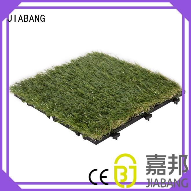 JIABANG Brand garden antibacterial custom outdoor grass tiles