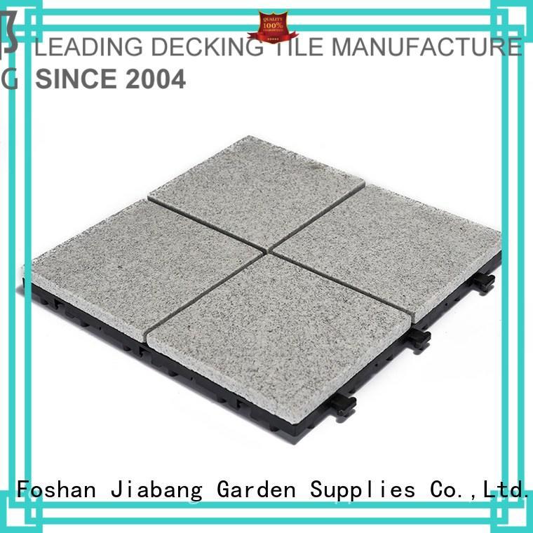 JIABANG custom interlocking granite deck tiles at discount for sale
